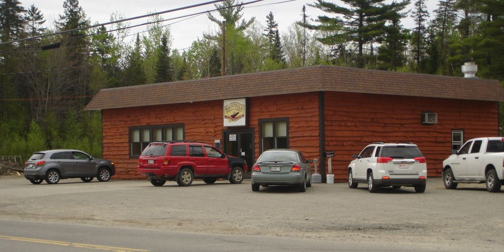 Sawmill Bar & Grill ~ Millinocket, Maine ~ On the way to Mt. Katahdin!