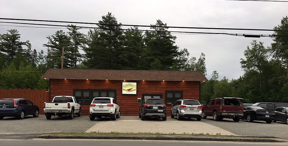 Sawmill Bar & Grill In Millinocket, Maine