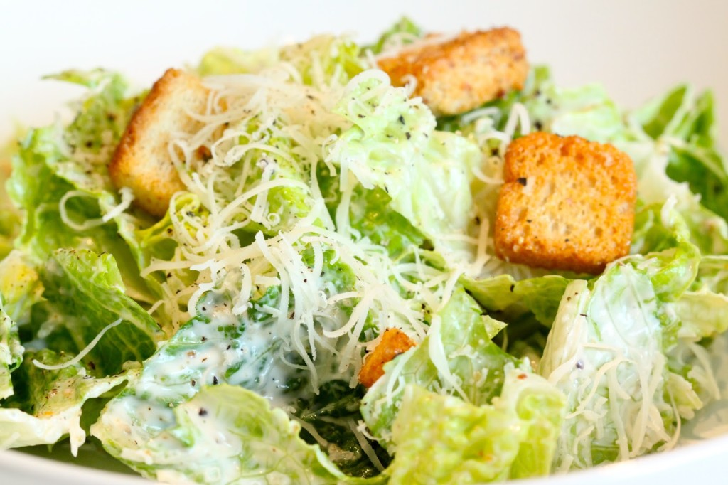 Caesar Salad ~ Sawmill Bar & Grill, Millinocket, Maine