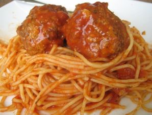 Little Itl'y Spaghetti & Meatballs ~ Sawmill Bar & Grill, Millinocket, Maine