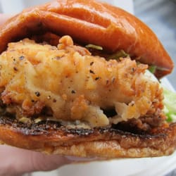 Chicken Finger Burger