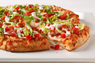 The Chimney BLT Pizza