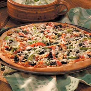 The Knife Edge Taco Pizza